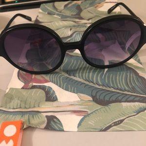 Garrett Leight oval sunglasses